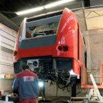 Instandsetzung Triebwagen ET 425 06